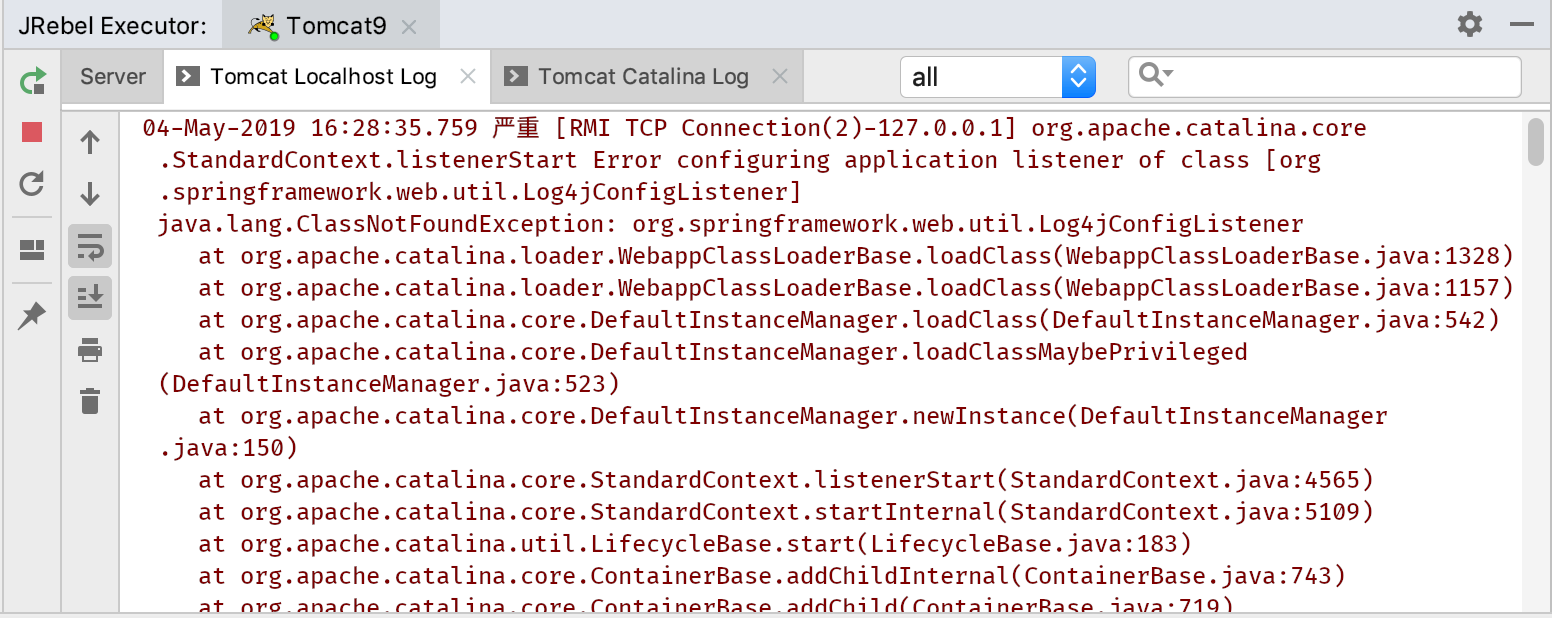 Spring: java.lang.NoSuchMethodError: clearCache | ClassNotFoundException | Error during artifact deployment 思路及解决办法